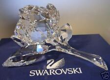"SWAROVSKI SILVER CRYSTAL ""ROSE BLOSSOM"" 890289 MINT IN BOX"