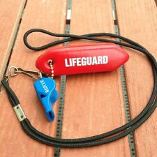 """Lifeguard Rescue tube (Only) Keychain """"The Original"""" by New York's Safest! Look!"""