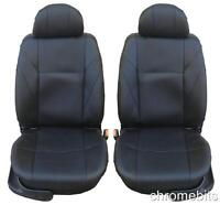 FRONT BLACK LEATHERETTE SEAT COVERS FOR HONDA CIVIC CR-V ES ACCORD MPV JAZZ GT