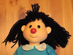Vintage 1996 The Big Comfy Couch Molly Doll Vinyl Hard Head Playmates