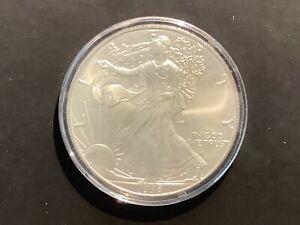 1996 Silver American Eagle. 1oz Fine Silver. BU CONDITION!! B1a