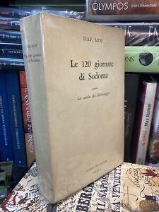 V9 D.a.f Sade Le 120 Giornate Di Sodoma Classici Erotismo