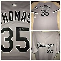 NWT Authentic Frank Thomas Autograph On-Field Majestic Chicago White Sox Jersey