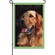 Golden Retriever Labrador Lab Dog Puppy Garden Flag 12x18 Premier