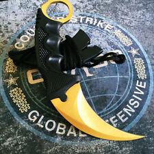 Cs Go Knife New Karambit COUNTER Handmade Fade Real  Black CSGO Collectioners