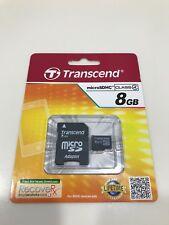 Transcend microSDHC 8GB Memory Card Class4