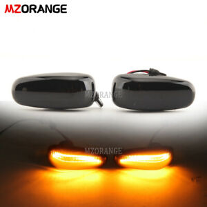 Dynamic LED Side Marker Light Turn Signal For Mercedes Benz CLK SLK Vito W638