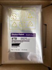 WD - SURVEILLANCE 8TB PURPLE PRO 256MB 3.5IN SATA 6GB/S 7200RPM