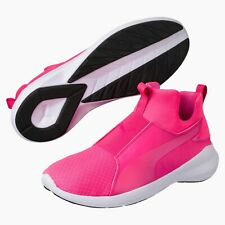 Puma Rebel Mid Womens Trainers Size UK 6.5 / EU 40 Knockout Pink (G5I)