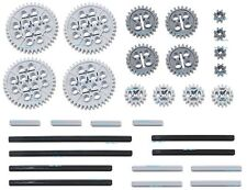 LEGO 30pc Technic gear & axle SET (Mindstorms nxt robot rcx lot pack hobby NEW)