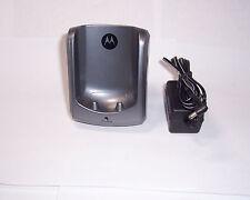motorola md7001 5.8 ghz 2 line cordless phone handset base for md7081md7091