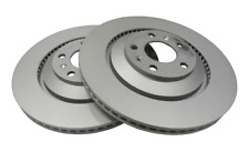 Bentley CREWE GENUINE Rear Brake Discs/Rotor Set 4E0615601L (2)