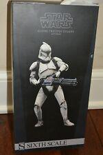 Sideshow Star Wars 1/6 Clone Trooper Deluxe Veteran w/ Phase I and II Helmet NIB