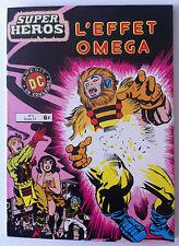 "Super Héros N°8 ""L'effet Omega""  DC Arédit couleurs"