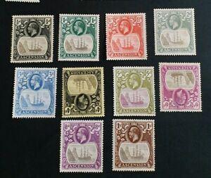 ASCENSION 1924 0.5d to 1s SG 10 - 18 Sc 10 - 19 MLH 4d 6d with thin