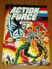 ACTION FORCE MARVEL BRITISH ANNUAL 1987 FN (6.0)