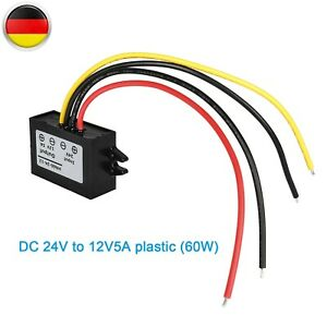 LKW Spannungswandler Von 18V/24V/36V Auf 5A 12V Volt Konverter Inverter Netzteil