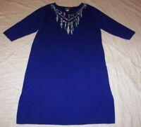 Women's Bob Mackie Wearable Art Sweater Dress - Size 1X