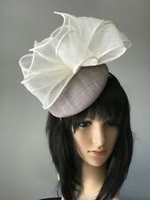 4816c645efdeb taupe wedding hat products for sale | eBay