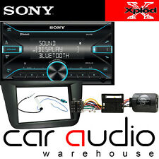 SEAT Leon MK2 2005-09 Sony MP3 Bluetooth Doble DIN Kit de Volante Usb