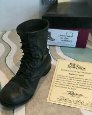 Just the Right Shoe Raine Jtrs Black Military Boot 25501 Nib