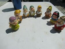 Disney Princess Fisher Price Little People Snow White Seven Dwarfs COMPLETE set
