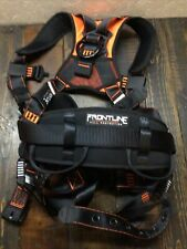 Frontline 110ctb Combat Construction Aluminum Full Body Harness With Tongue Buck