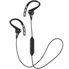 JVC Sports Stereo Bluetooth Wireless In Ear Headphones with Ear Clip Black New