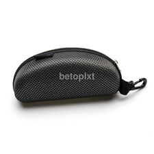 New Portable Zipper Eye Glasses Sunglasses Case Shell Hard Case Protector Box FR
