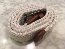 Original Penguin Woven Elastic Leather Belt, size 36