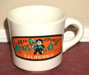 Official Boy Scouts BSA 49er Council California Coffee Cup Mug Rare