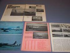 VINTAGE...DOUGLAS B-23 DRAGON..HISTORY/DETAILS/COCKPIT PHOTO..RARE! (272G)