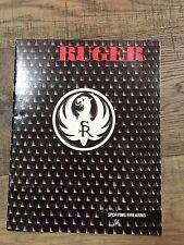 Vintage Ruger Firearms Catalog 1983
