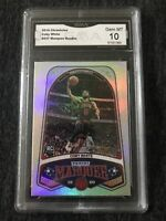 2019-20 Panini Chronicles Marquee #237 Coby White Rookie graded gem mint GMA 10