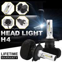 1 Pair H4 9003 HB2 Car LED Headlight Kit Replace Bulbs Lamp Hi/Lo Beam 8000LM