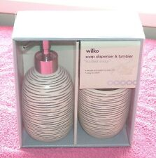 Wilko Soap Dispenser and Tumbler New in Box.