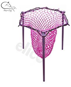 Elico Hexley HAY NET FILLER Stand/Holder/Ring Makes Filling Nets Easier FREE P&P