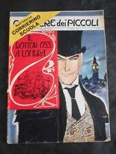 ***CORRIERE DEI PICCOLI N. 42 (1965)*** CON FIGURINE CALCIO DA RITAGLIARE !