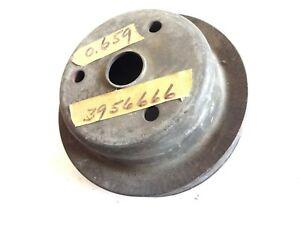 NOS 1969 - 1975 CHEVELLE CAMARO NOVA IMPALA V8 CRANKSHAFT PULLEY OLDER STYLE!