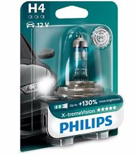 NEW Philips H4 Xtreme Vision 2017 +130% Car Headlight Bulbs 12V 55W P43t-38