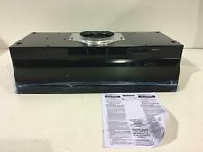 Broan F403023 Two-Speed Four-Way Convertible Range Hood, 30 in. Black New Other