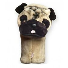 Pug Dog Golf Animal Headcover Driver Head Cover Daphnes Golf Club Cover