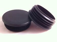 1 Plastic Blanking End Caps Cap Round Tube Inserts 90mm