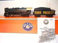 Lionel Elvis Presley Berkshire Steam Locomotive and Tender - O gauge - with Box!