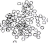 5mm Stainless Steel Jump Rings 20 Gauge - 500 Pieces - SS005B