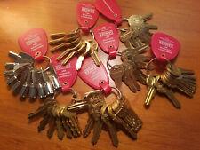 Elevator Key Sets for (Schindler Otis Kone Dover ThyssenKrupp Monitor Control)