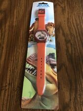 New Ice Age Dawn of the Dinosaurs Digital Watch - Rare - NIP Orange Squirrel