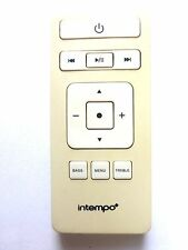 INTEMPO IPOD DOCK REMOTE CONTROL for INCONCERT
