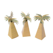 12pcs Rustic Wedding Favor Box Coconut Palm Tree Baby Shower Wedding Gifts*