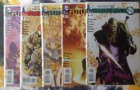 New 52 FUTURES END #4, 5, 6, 7, 8 - DC Comics - NM